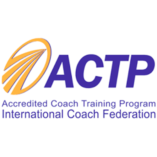 Logotipo Accredited Coach Training Program International Coach Federation